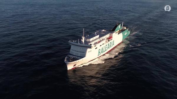 La flota de Balearia