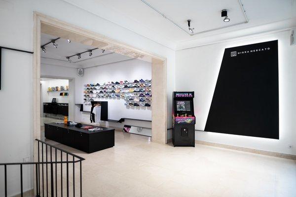 La tienda física en Madrid