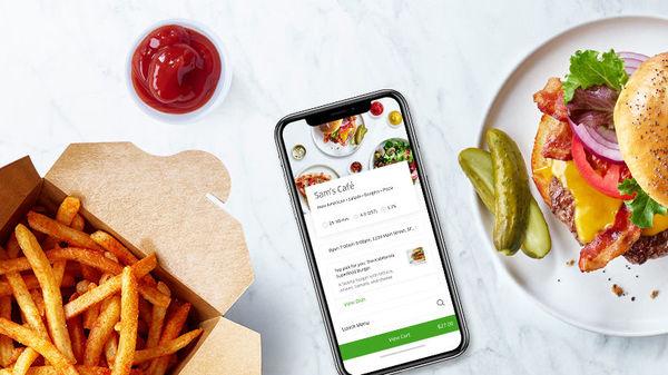 La app de Uber Eats