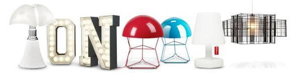 Lámparas de diseño contemporáneo