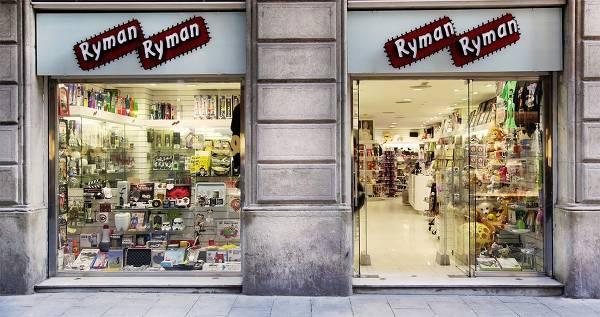 La página web de RymanRyman