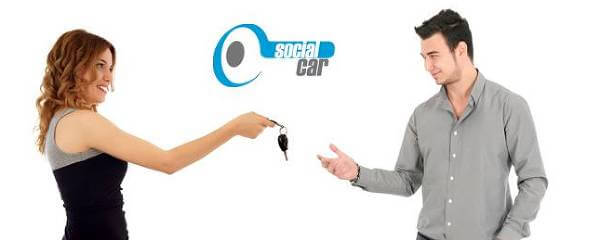El portal web de Social Car
