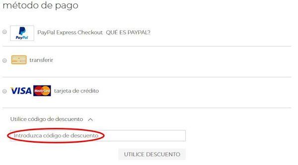 Cómo canjear cupones descuento en Taburetes.es
