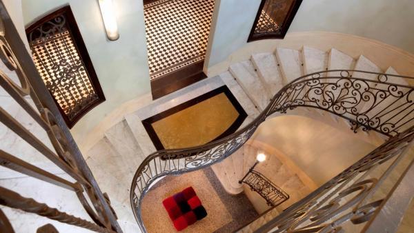El interior de uno de hoteles de la cadena