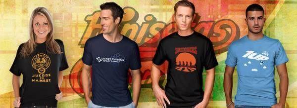 Camisetas divertidas de algodón