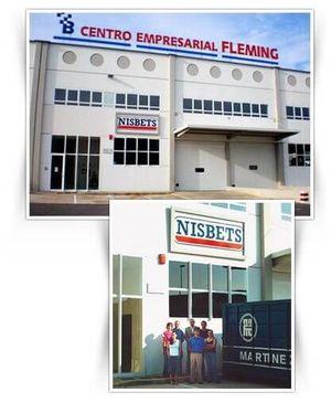 La sede de Nisbets Ibérica