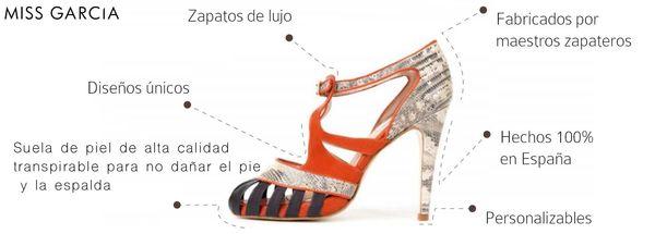 El calzado de Miss Garcia