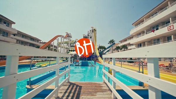 Un hotel todo incluido con parque acuático