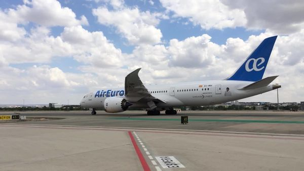 Las aeronaves de Air Europa