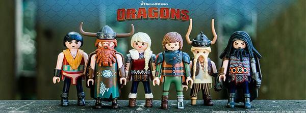 Las figuritas de Dreamworks Dragones