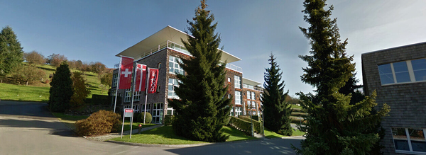 La sede de la firma en Suiza