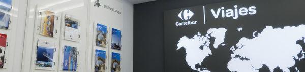 Las agencias de Carrefour Viajes