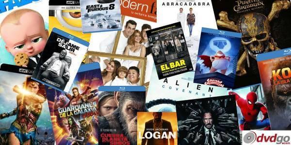Especialistas en películas en formato DVD y blu-ray