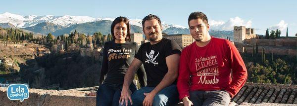 Jorge, Carmen y Paco