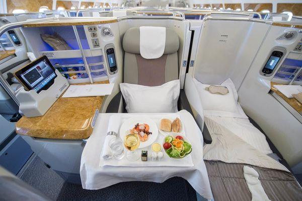 Las comodidades de Emirates