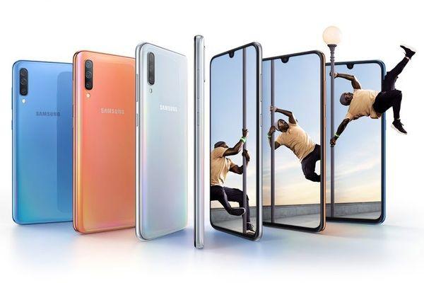Los móviles Galaxy