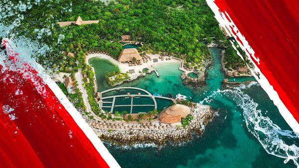 Parque acuático Xcaret