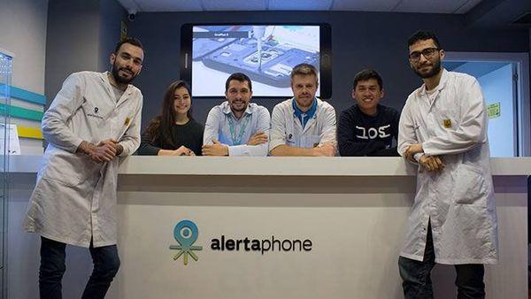 El equipo de Alertaphone