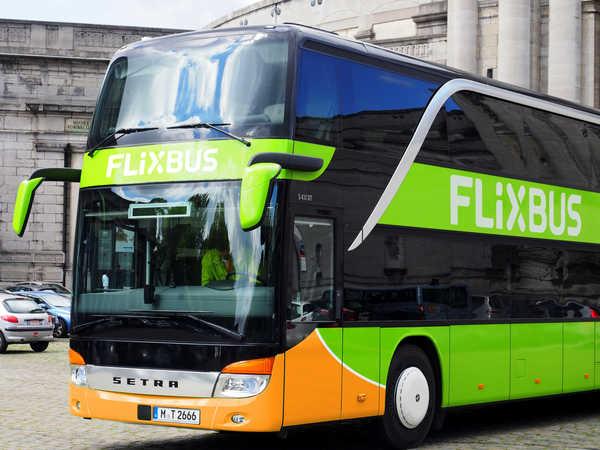 Los autobuses de la empresa