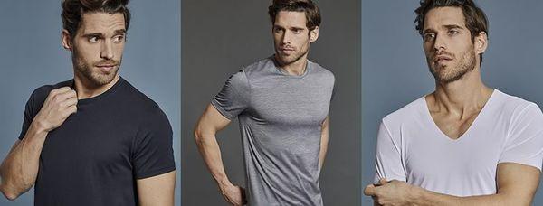 Las camisetas para hombre