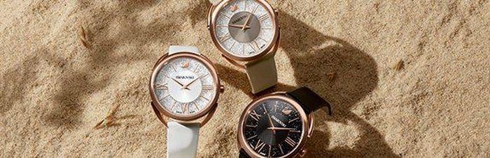 Los relojes de Swarovski