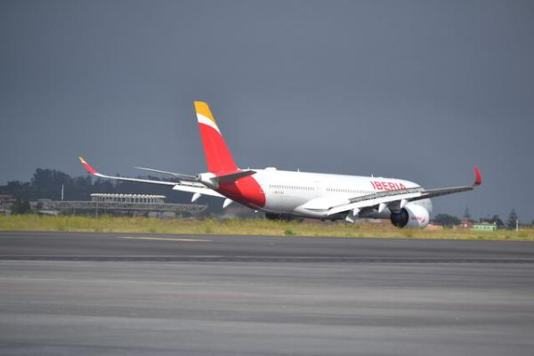 Uno de las aeronaves de la compañía