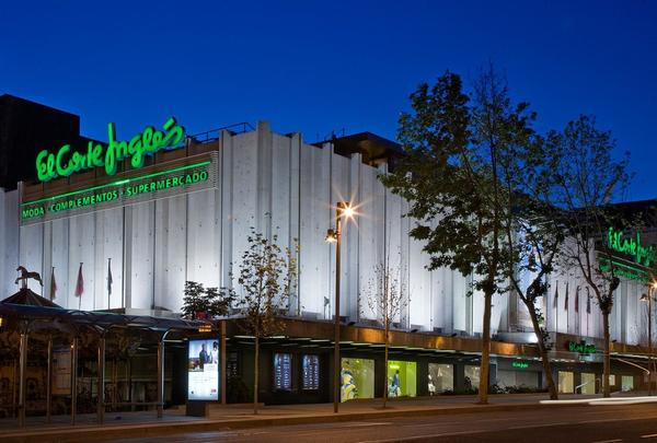 Uno de los centros comerciales