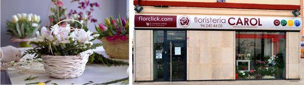 La floristería de la firma