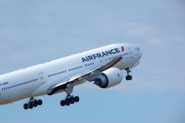 Las aeronaves de Air France